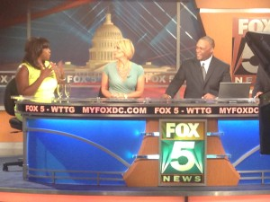 Fox5 News DC Set